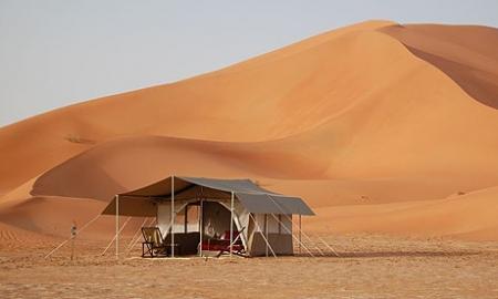 The Empty Quarter of Oman