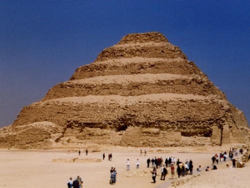 La Pirámide Escalonada de Saqara
