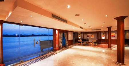 Amwaj Livingstone Nile Cruise Lobby