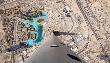 Visto dall'alto di Burj Khalifa