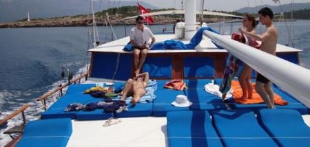 Gulet Cruise Sundeck