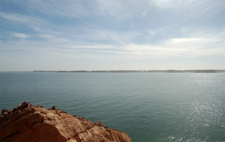 Fishing in Lake Nasser