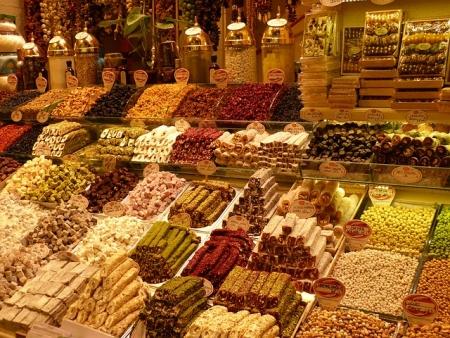Mercado das Especiarias- Istambul