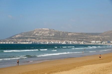 Plage à Agadir