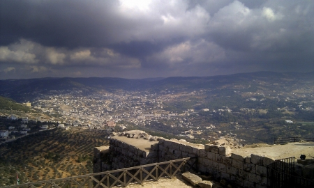 View from Ajloun Castle, Jordan