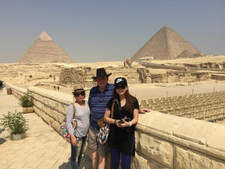Amazing Family Time at the Pyramids