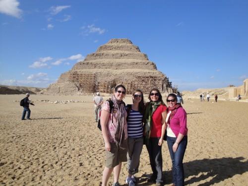 Djoser Step Pyramid in Sakkara