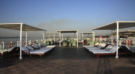 Deluxe Hamees Nile Cruise Sundeck