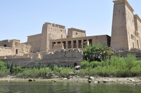 El Templo de Filae, Asuán