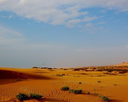 El desierto de Souss-Massa.