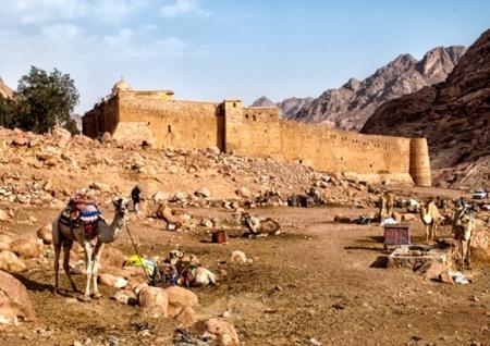 St. Catherine's Monastery in Egypt