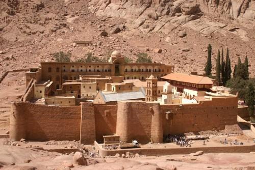 St. Catherine Monastery in Sinai, Egypt