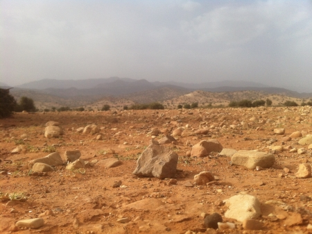 The Rocks of Souss-Massa