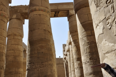 Hypostyle Hall at Karnak Temples