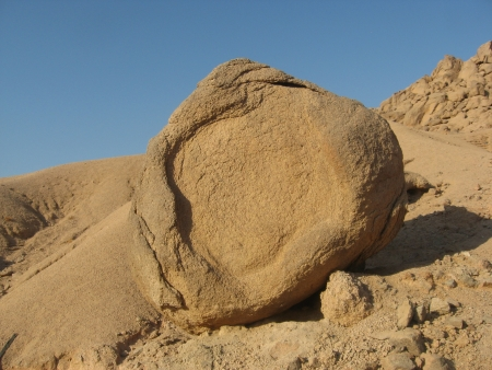 The amazing nature of Sinai Desert