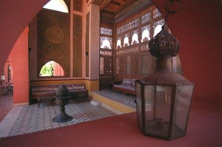 Decoration of Al Moudira Hotel