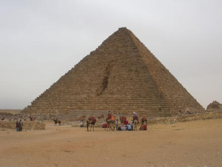 Mykerinus (Menkaure) Pyramid at Giza