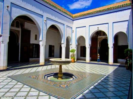 Palazzo della Bahia - Viaggio Marocco Atlante