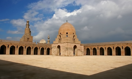 Ibn Tulun Mosque in Cairo