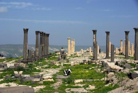 Greco Roman Columns, Umm Qais