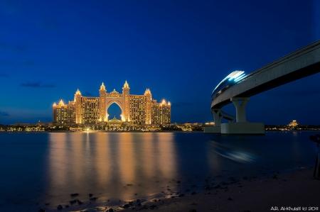 Atlantis The Palm by Night
