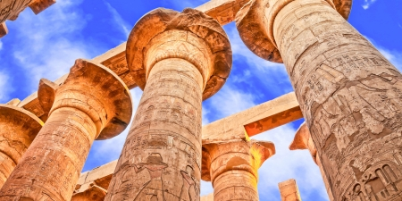 The Great Hypostyle Hall of Karnak Temple - Luxor
