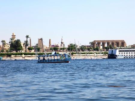 Nile view for Karnak