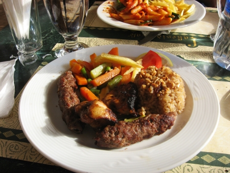 Egyptian Grilled Kofta