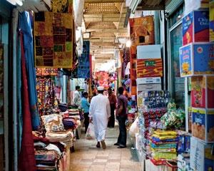 Mutrah Souq in Oman