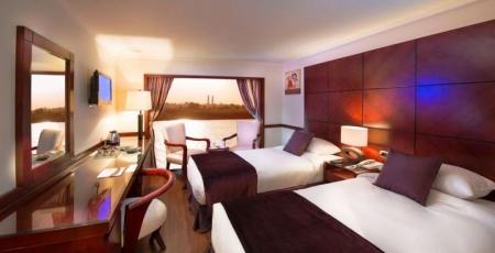 Amwaj Livingstone Nile Cruise Cabin