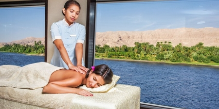 The Oberoi Philae Nile Cruise Spa