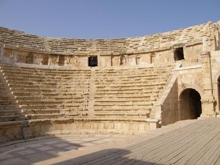 ローマ劇場、ぺトラ