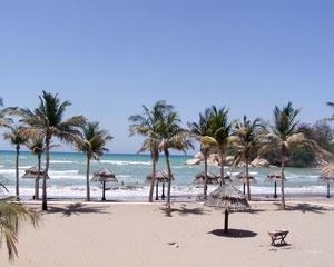 AlQurm Beach of Oman