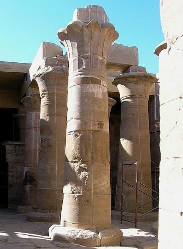 Hibis Temple in Kharga Oasis