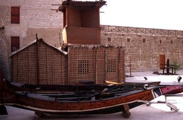 Das Dorf der Kulturerbestätte in Abu Dhabi