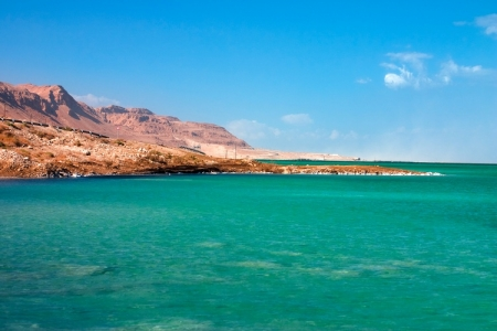 Dead Sea, Lowest Point on Earth