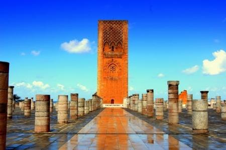 Hassan II Tower, Rabat