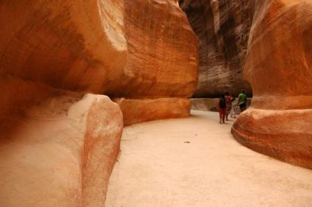 Il Siq, Ingresso Principale alla Città di Petra