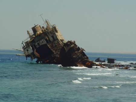 Ship Wreck in the Red Sea