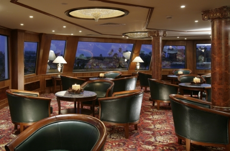 Sonesta St George Nile Cruise Sitting Area