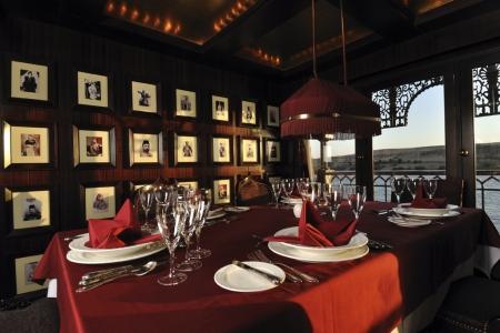 SS Misr Nile Steamer Cruise Restaurant