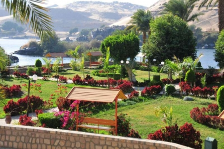 Kitchener's Island in Aswan