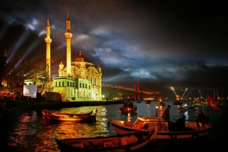 Istanbul City By Night