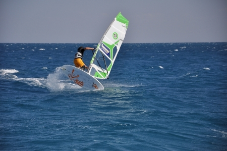 Windsurfing at Hurghada Red Sea