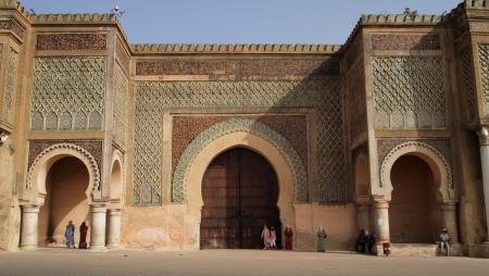 Bab Mansour a Meknes