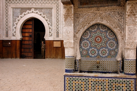 The Nejjarine Fountain, Fez