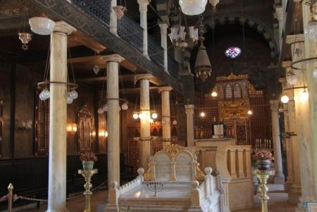 Synagogue de Ben Ezra, Le Caire