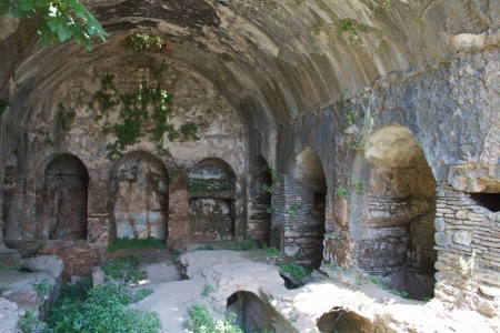 Inside Cave of the Seven Sleepers