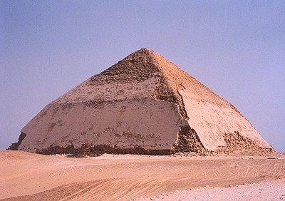 Bent-Pyramide von König Senefru, Dahschur