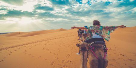 Il deserto in Egitto